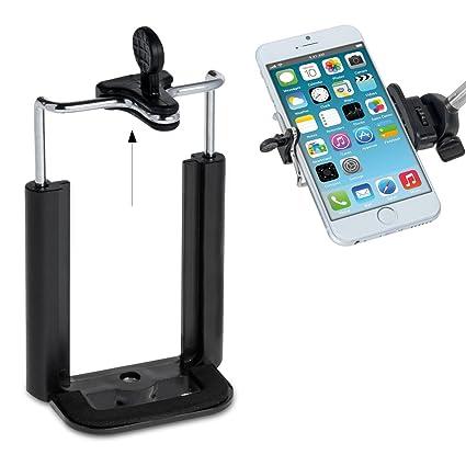 kwmobile| Soporte universal de Smartphone para trípode con rosca ...