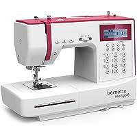 Bernette Sew&GO8 - Máquina de coser electrónica con 197 puntadas de costura (útiles, elásticas, decorativas), Automática, Display multifunción