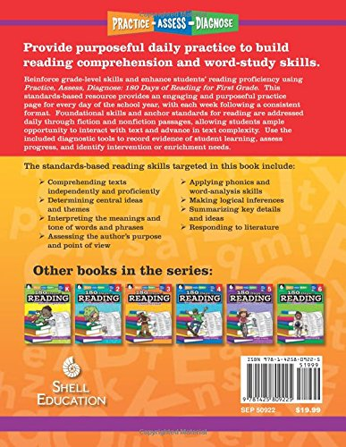 Amazon.com: 180 Days of Reading for First Grade (180 Days of ...