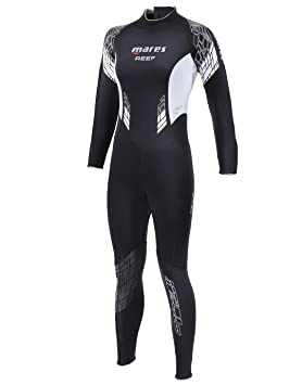 6760a18daf Mares Reef Womens Wetsuit Size 6   White  Amazon.co.uk  Sports ...
