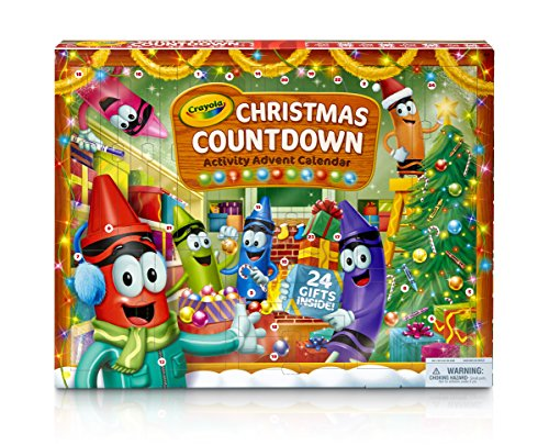 (Crayola Christmas Countdown Activity Advent Calendar)