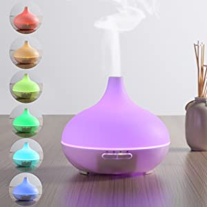 URPOWER<sup>®</sup> 300 mL Ultrasonic Essential Oil Diffuser width=