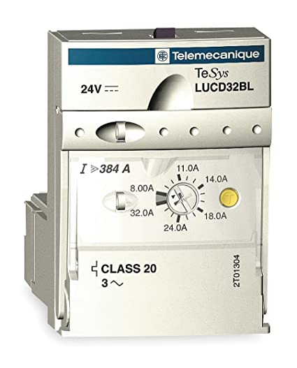 Amazon.com: Telemecanique/Schneider Electric - LUCC32FU - Overload Module, Trip Class: 10, Current Range: 8.00 to 32.0A, Number of Poles: 3: Everything Else