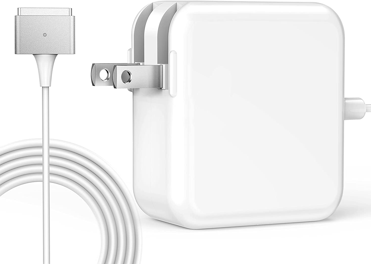 Tissyee MacBook Air Charger, 45W Magnetic Mag2 T-Tip Charger, Universal Charger for Mac Book Air 11-inch 13 inch 2012Late