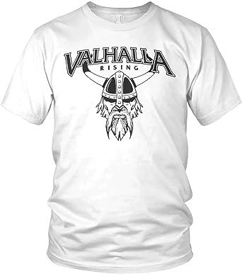 vanVerden North Camisetas para Hombre - Valhalla Rising Viking Walhalla Vikingo: Amazon.es: Ropa y accesorios
