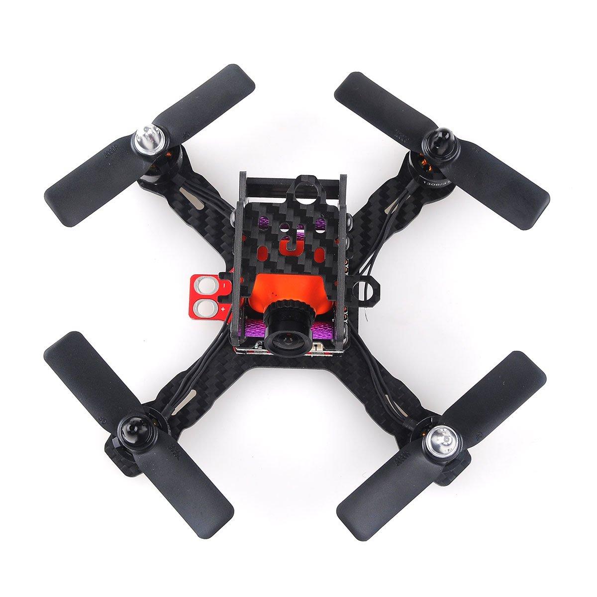 Amazon.com: Crazepony X130 FPV Racing Drone Mini Quadcopter Carbon ...