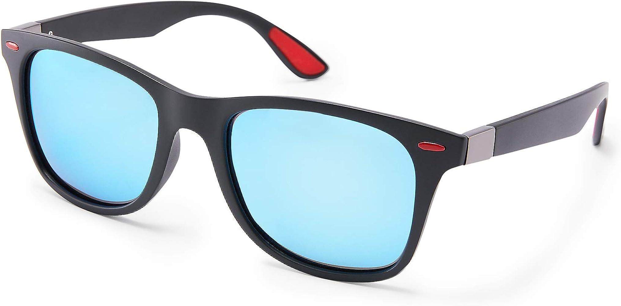DOVAVA Gafas de sol Hombre Polarizado Protección UV Conducir Gafas ...