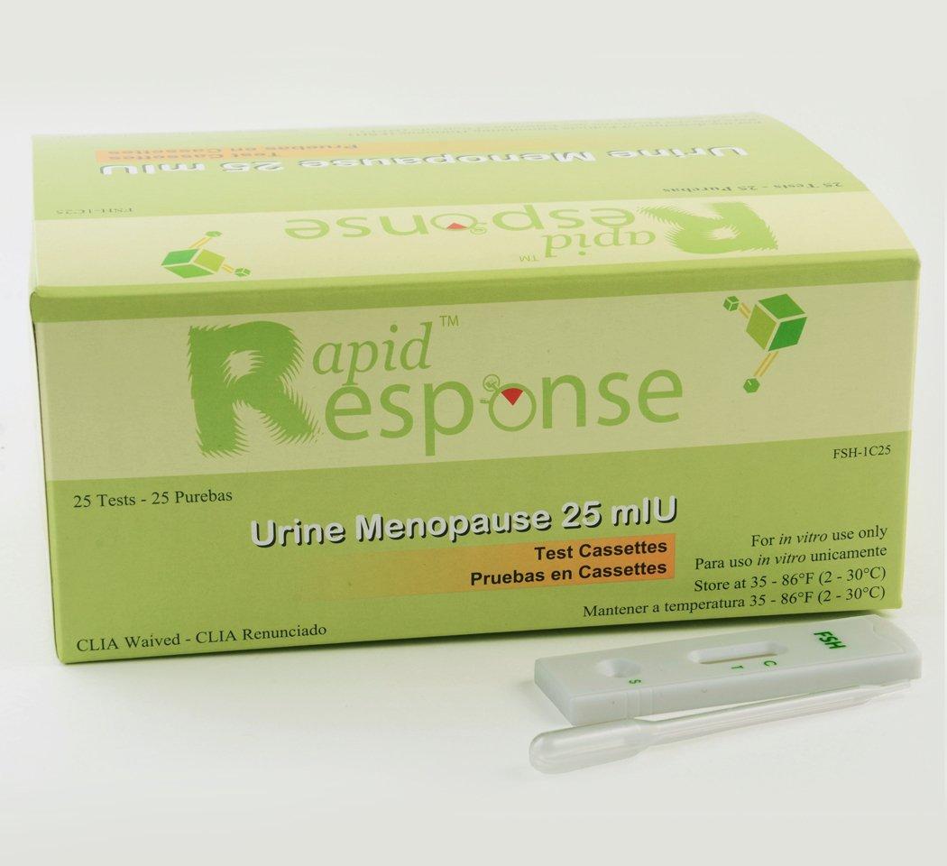 Amazon.com: Rapid Response FSH-1C25 Menopause 25 MLU FSH ...