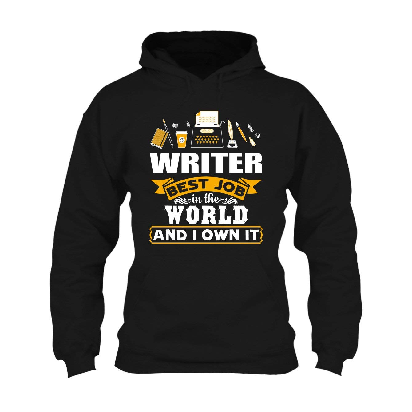 Writer Best Job In The World Pullover , S