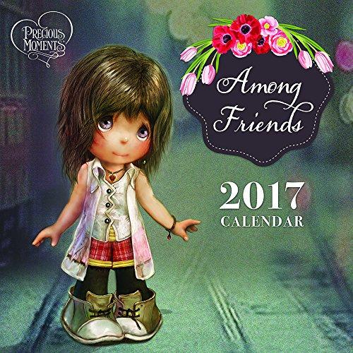 "Precious Moments, Among Friends"", 2017 Wall Calendar, 161427"
