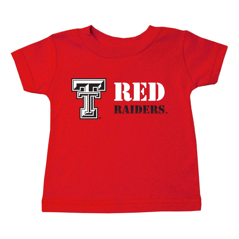 2019公式店舗 Two Red Feet Ahead NCAA Texas Tech B01N9GXTO6 Red Ahead Raiders 子供用ユニセックス半袖Tシャツ、XS、レッド B01N9GXTO6, 蕨市:2108e169 --- a0267596.xsph.ru