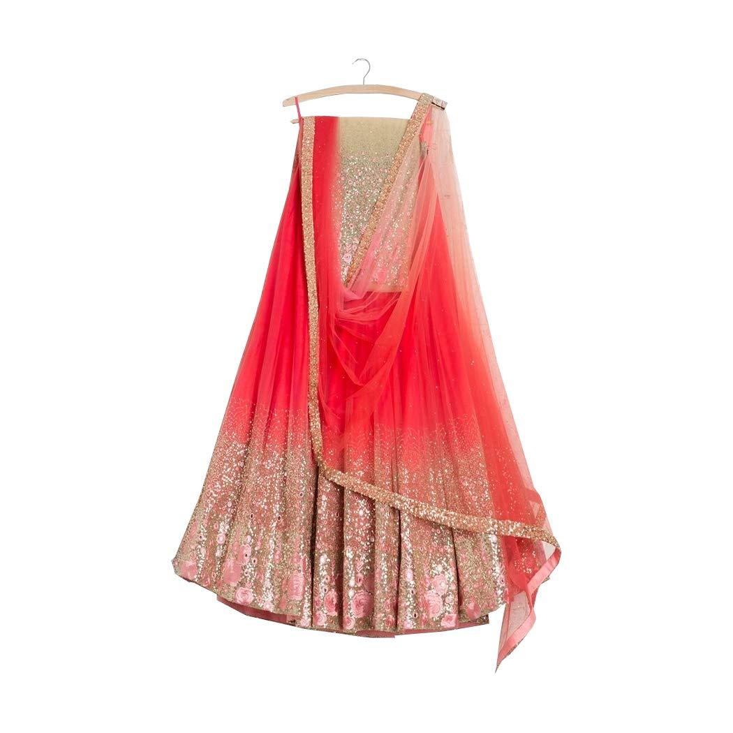 AMIT FASHIONS Exclusive Indian Designer Semi Stitch Lehenga Choli for Women's AFC_DIP3127