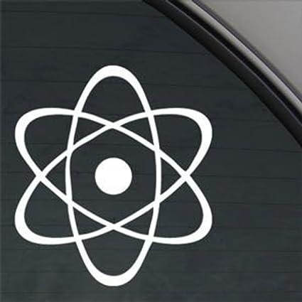 CCI042 - Adhesivo de Vinilo con símbolo de átomo atómico, para ...