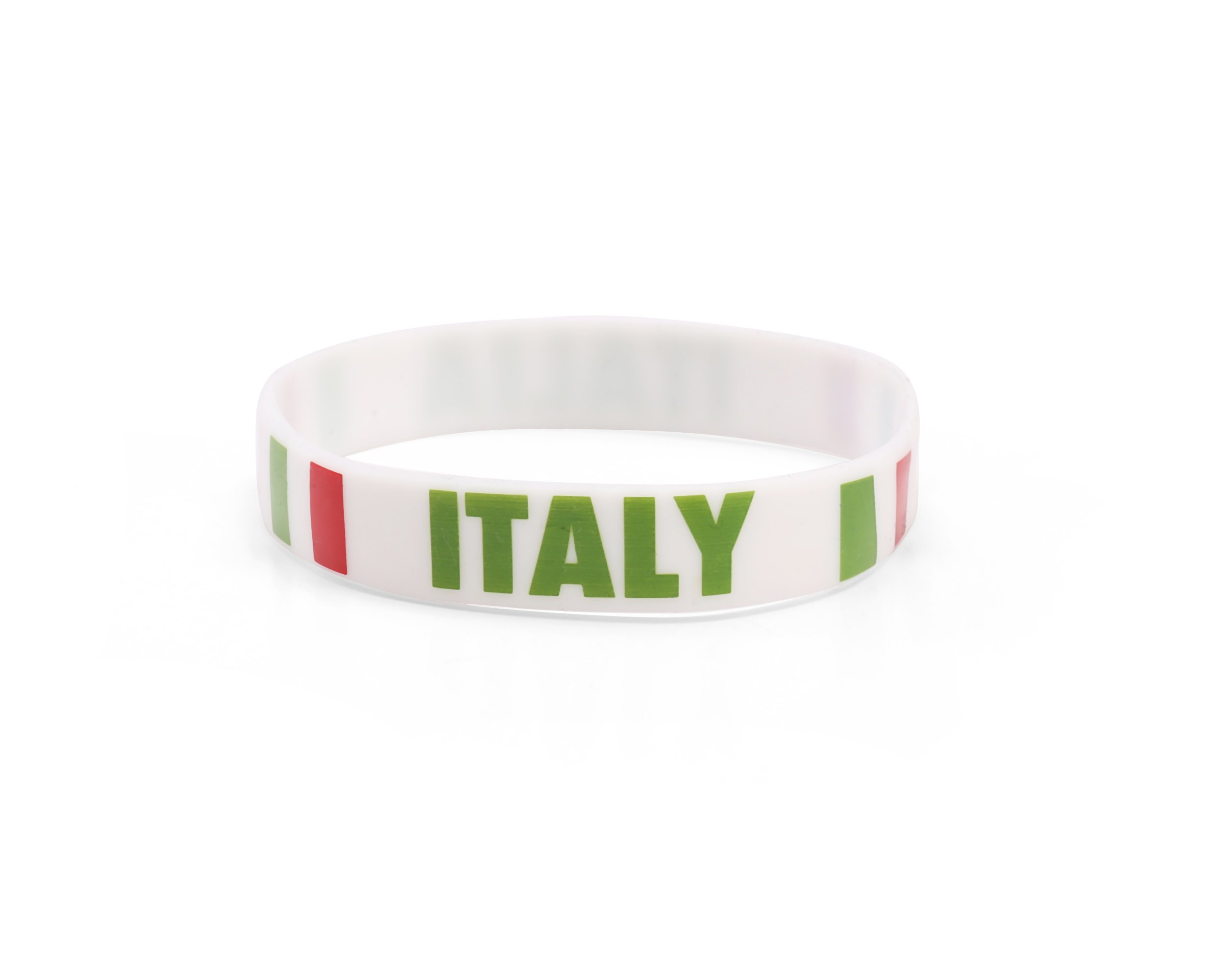 300 x Italy - Silicone Wristbands