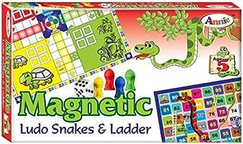 Prezzie Villa Magnetic Ludo for Kids (Multicolour)