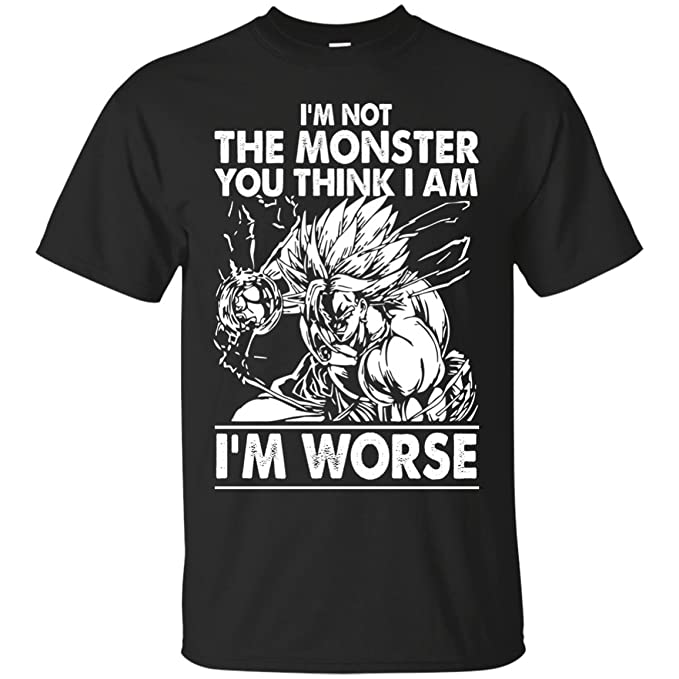 69a1025629c2 Image Unavailable. Image not available for. Color: Funny Dragonball z Goku  and Vegeta Tshirt ...
