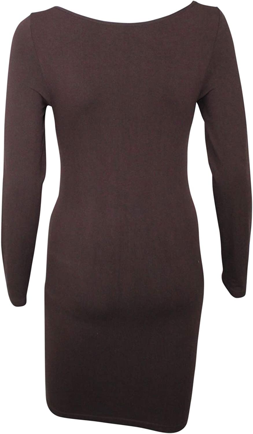 M Rena Womens Long Sleeve Tunic Dress-One Size Fits Most