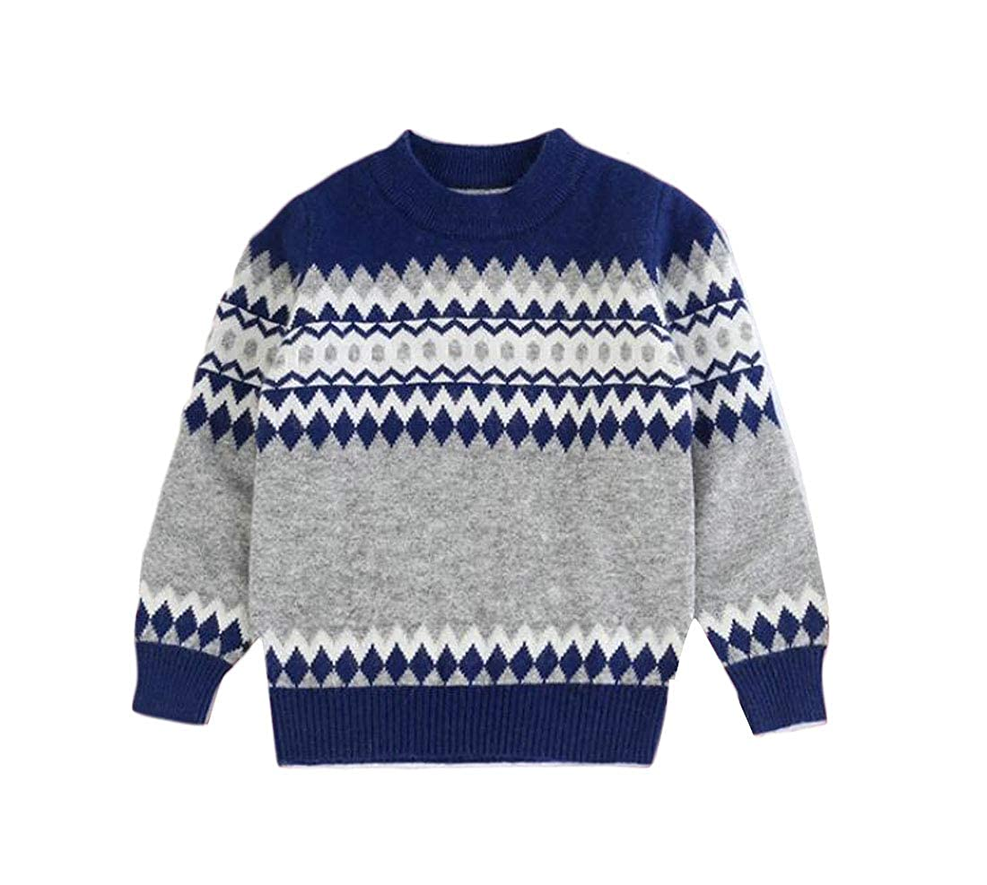 C/&H Boys Autumn Pullover Slim Thicken Cute Jumper Sweaters