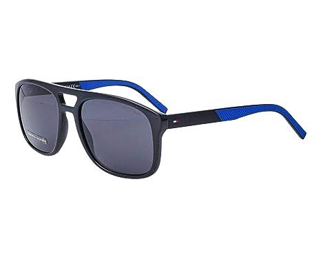 Th S Blueir de 0d51 1603 Azul sol Lente Gafas Gris Negro Tommy Hilfiger pIdYYzx
