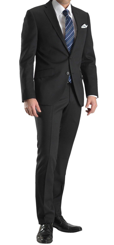 Washable Suit(ウォッシャブルスーツ)2ツボタンスーツ 家庭で上着 スラックス上下洗える ビジネス リクルート 就活 オールシーズン対応SC64 B06X3VT222 A7|ブラック 47102110-10 ブラック 47102110-10 A7
