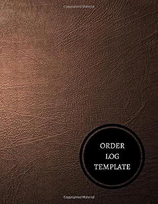 order log template purchase order log