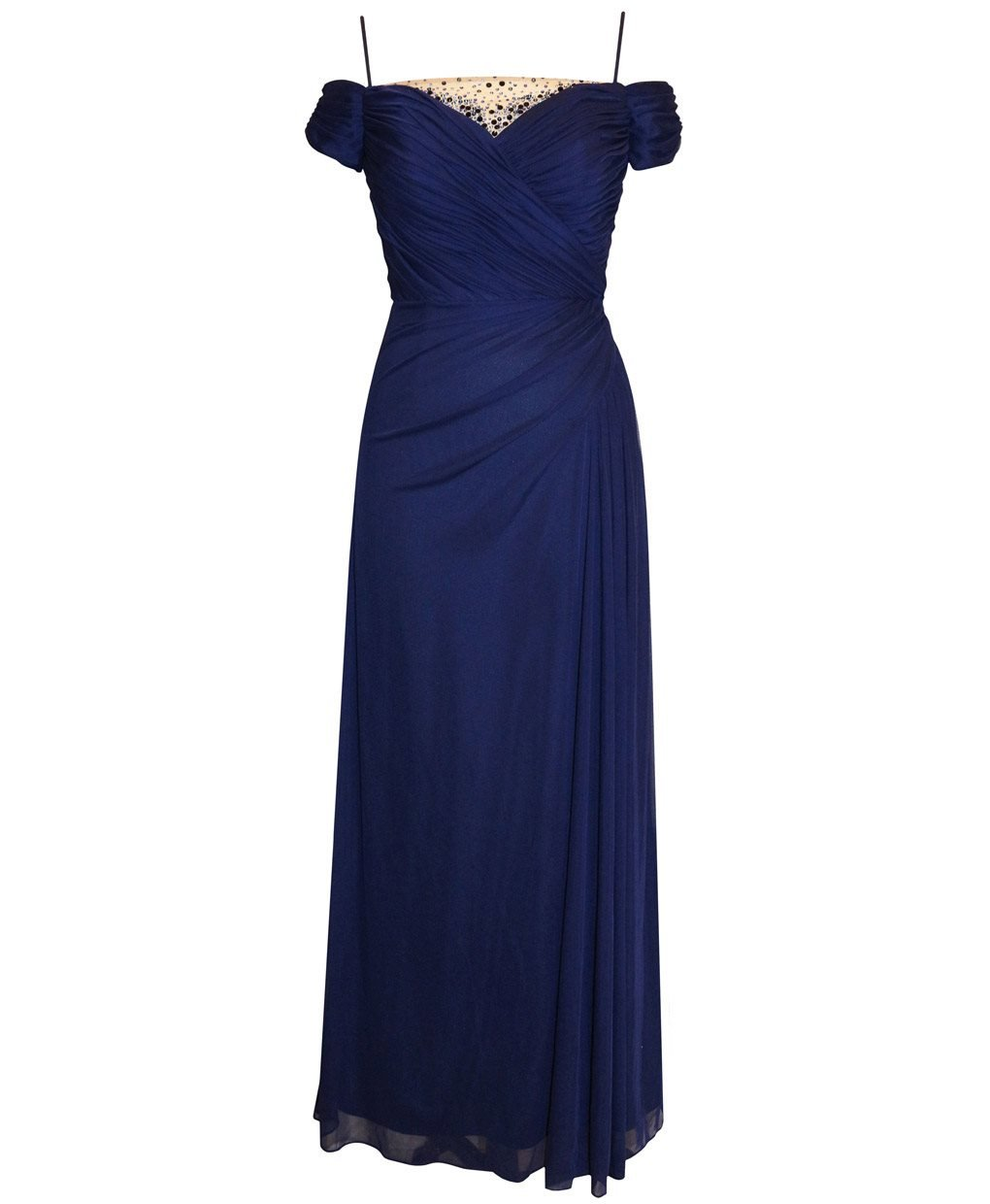 Plus Size Alex Evenings 432760 Dress --Size: 18 Color: Navy by Alex Evenings