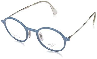 e2aa9041bba Amazon.com  Ray-Ban Unisex RX7087 Eyeglasses Azure 46mm  Shoes