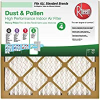 Rheem 20 in. x 20 in. x 1 in. Basic Household Pleated Air Filter