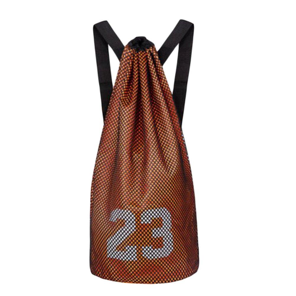 George Jimmy Training Backpack Basketball Volleyball Soccer Pocket Outdoor Sport Organizer Bag-Orange