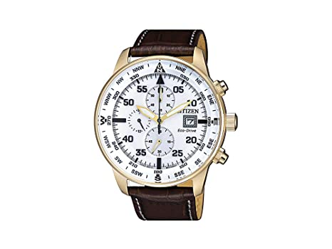 buy online c63d0 04087 Buy Citizen Eco-Drive Chronograph Aviator 100m Online at Low ...