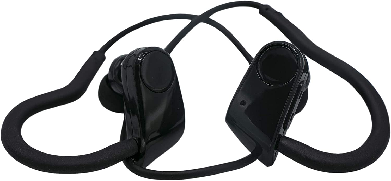 Best Wireless Sports Earphones w Mic IPX7 Waterproof HD Stereo Sweatproof Earbuds for Gym Running Workout 8 Hour Battery Noise Cancelling Headsets