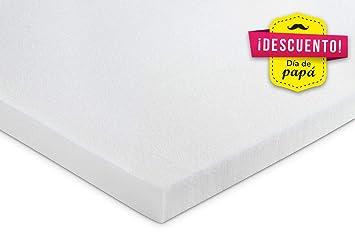 KAMA HAUS Plancha Visco 2 cm | Sin Funda | Top para colchón | Alta Gama