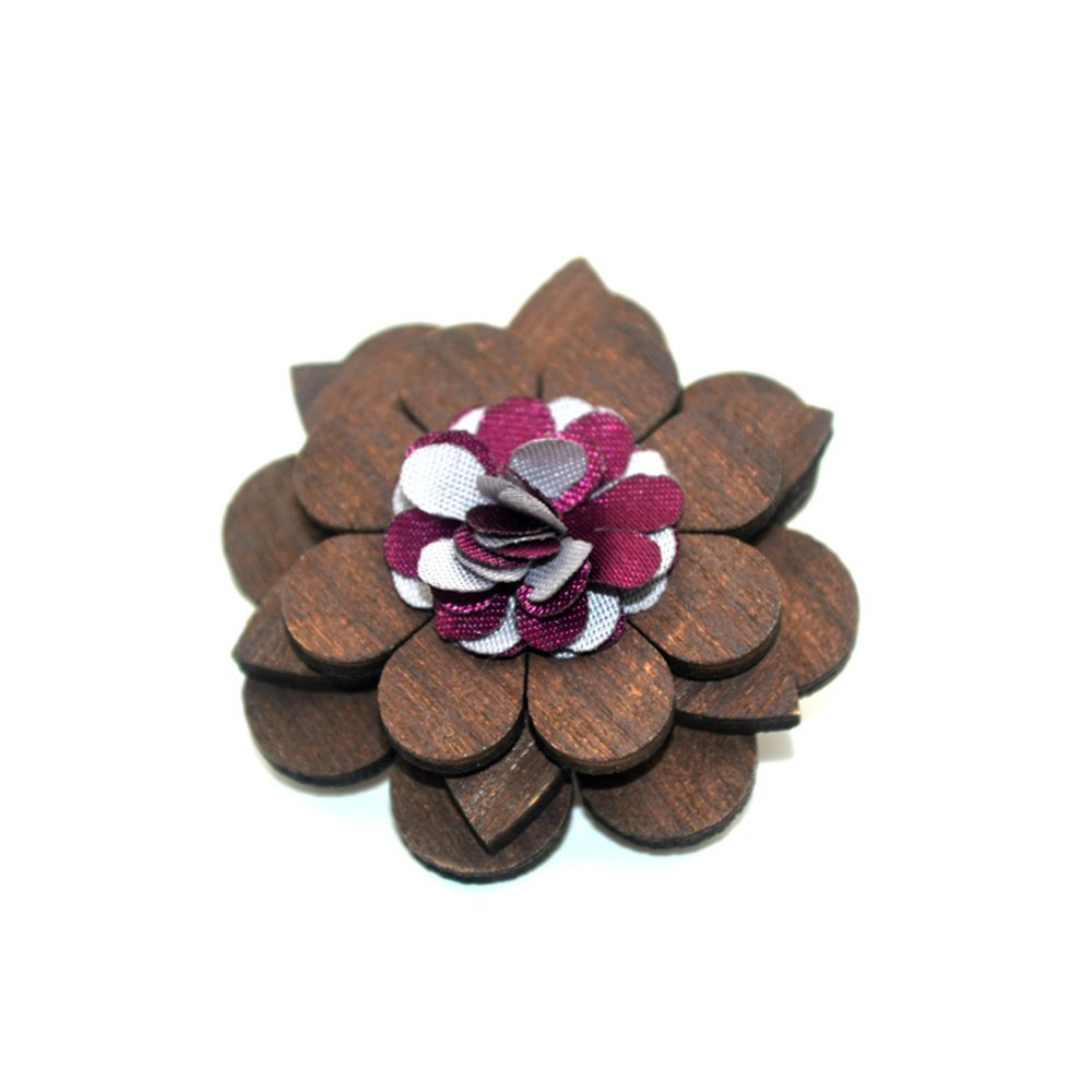 brooches item booking on handmade your livemaster with brooch buy shop online violet leather