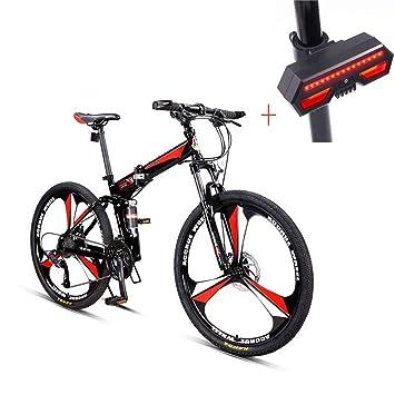 Bicicleta, Bicicleta De Montaña, 26 Pulgadas De 27 De Velocidad De Disco Doble Freno