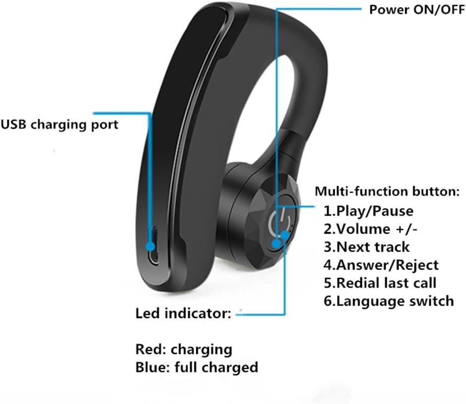Accesorio Para Celular 2017 V11 Manos Libres Inalámbrico Auriculares Bluetooth Oficina De Cancelación De Ruido Auriculares Inalámbricos Bluetooth Con