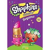 Shopkins Cicibiciler Boyama Mor-Kokulu Kitap