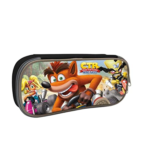 Amazon.com : GSGSDG Crash Team Racing CTR Game Pencil Case ...