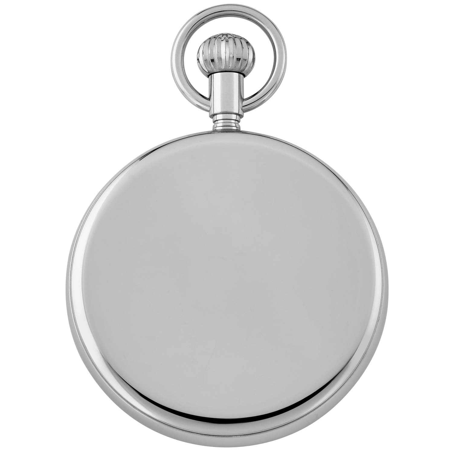 Gotham Men's Stainless Steel Mechanical Hand Wind Railroad Pocket Watch # GWC14104s by Gotham (Image #4)