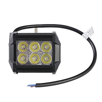 Ip67 Bateau Spot De Voiture 24v Yuanline® Étanche Véhicule Suv Pour 12v Led Auto Chantier Lampe Travail Projecteur Camion 18w Phare 45qARjc3L
