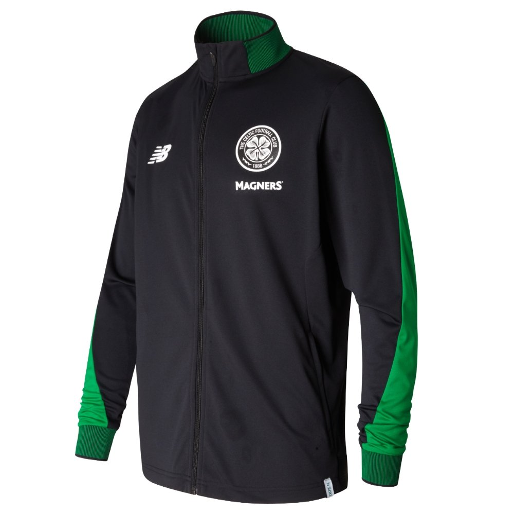 New Balance 2017-2018 Celtic Presentation Jacket (schwarz)