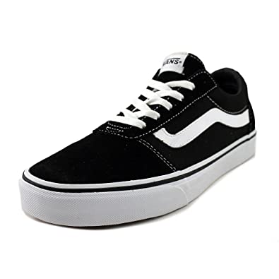 34ce68f985 Vans Women s Ward Suede Canvas Low-Top Sneakers  Amazon.co.uk  Shoes ...