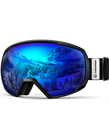 5f21dd69d2 OutdoorMaster OTG Ski Goggles - Over Glasses Ski Snowboard Goggles for Men
