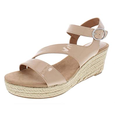 b63ad5d51ac Image Unavailable. Image not available for. Color  Style   Co. Womens Xenaa  Patent Platforms Espadrilles ...