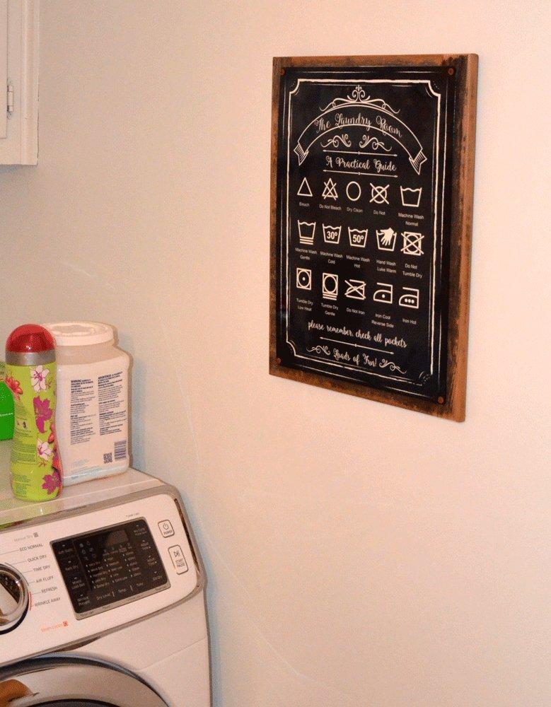 Amazon.com: Homebody Accents - Cartel de metal con texto en ...