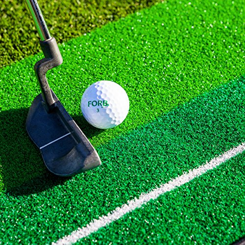 FORB Dual-Speed Golf Putting Mat (10ft x 1ft) - Perfect Your Putting On The Go With This Easy To Manoeuvre Mat [Net World Sport] by FORB (Image #4)