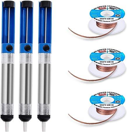 Solder Welding Equipment Wick Desoldering Pump 2pcs Braid 2.5mm Sucker Wick