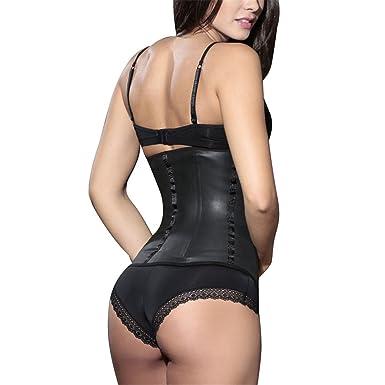 a6272773e2e4c Jeremy Martin 100% Latex Waist Trainer Corset Women Body Shaper Cincher  Underbust Shapewear Slimming Belt