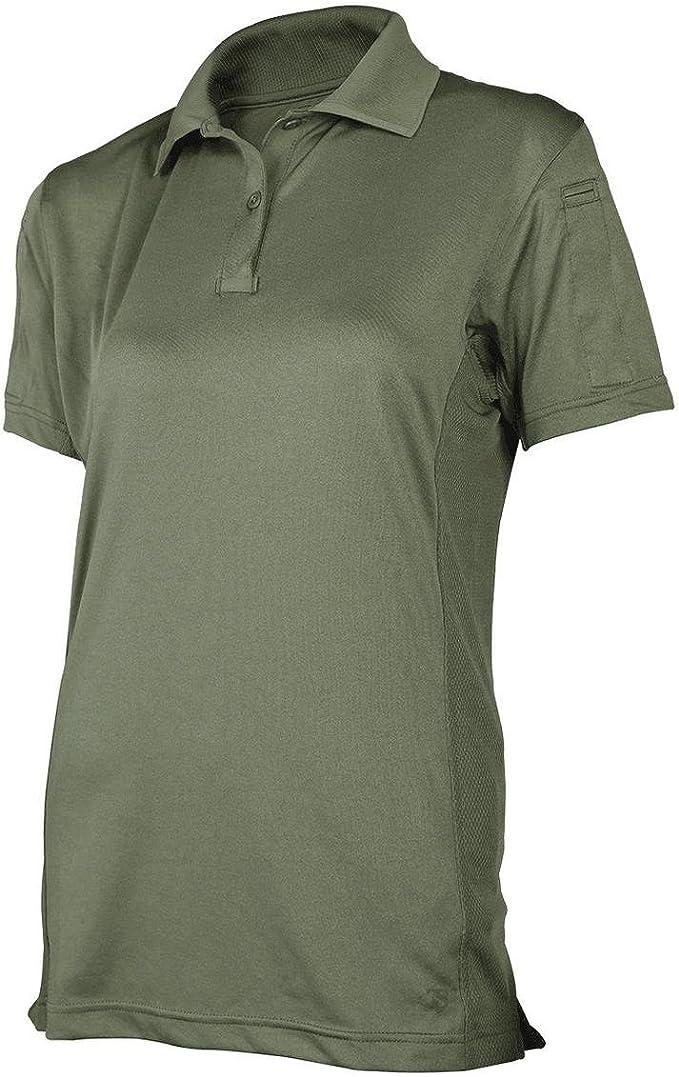 Tru-Spec® - Camisa para Mujer, 24 – 7 Blk Eco Tecs S/s, 3 x l Polo ...