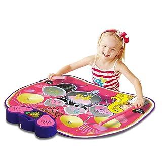 QXMEI Coperta Musicale per Bambini A Batteria Coperta Multifunzionale per Bambini 78 * 60 Cm