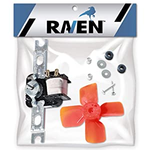 Raven Evaporator Fan Motor Replaces Whirlpool 482731 4318001